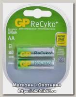 Аккумулятор GP AA 2100mAh ReCyko