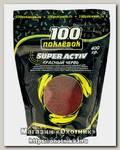 Активатор клева 100 Поклевок Super Activ красный червь 400гр