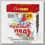 Батареи салютов Супер Салют Красный лед 24 залпов 1/4/1