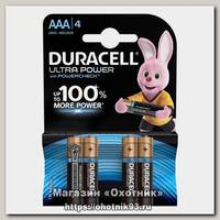 Батарейка Duracell AAА уп.4шт