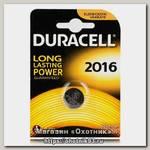 Батарейка Duracell DL 2016 уп.1шт