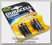 Батарейка Duracell Turbo LR03 AAA уп.4шт