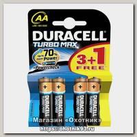 Батарейка Duracell Turbo LR6 AA уп.4шт