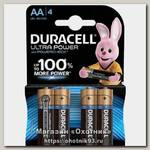 Батарейка Duracell UltraPower АА уп.4шт