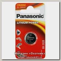 Батарейка Panasonic CR2032 уп.1шт