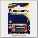 Батарейка Panasonic Essential Power 6LR61 9V уп.1шт
