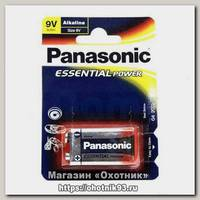 Батарейка Panasonic Essential Power 6LR61 9V уп.1шт