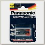Батарейка Panasonic Essential Power LR03 AAA 1.5B уп.2шт