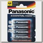 Батарейка Panasonic Essential Power LR6 AA 1.5 уп.4шт
