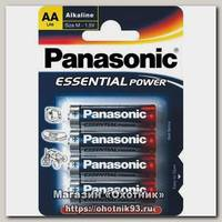 Батарейка Panasonic Essential Power LR6 AA 1.5 уп.4шт