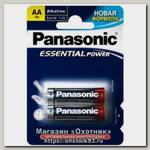 Батарейка Panasonic Essential Power LR6 AA уп.2шт