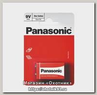 Батарейка Panasonic Zinc Carbon 6F22 9В упл.1шт