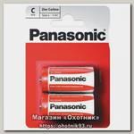 Батарейка Panasonic Zinc Carbon R14 C 1.5B уп.2шт