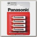Батарейка Panasonic Zinc Carbon R6 AA 1.5B уп.4шт