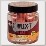 Бойлы Dynamite Baits CompleX-T fluro cork ball 15мм