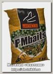 Бойлы MINENKO PMbaits пылящие GLM-зеленогубый моллюск 20мм 1кг