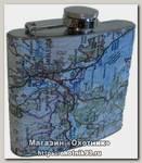 Фляга Expedition Карта металл 140 мл