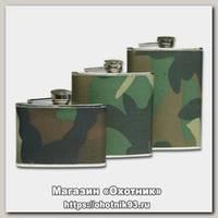 Фляга Mil-tec Taschenflasche Edelstahl 8 Oz oliv
