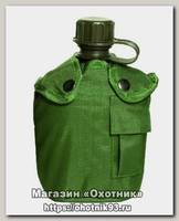 Фляга Mil-tec Us 14505001 в чехле 1л оливковая