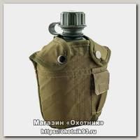 Фляжка Helios армейская №1 с чехлом