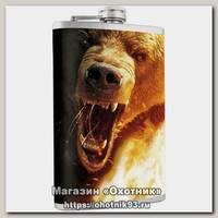 Фляжка Helios Медведь 240мл