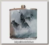 Фляжка Helios Волки 210мл