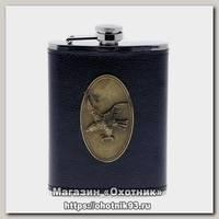 Фляжка Хольстер с орлом кожзам. 8 oz