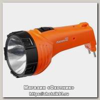 Фонарь Focusray 1220 1W+8SMD аккумуляторный