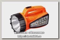 Фонарь Focusray 1230 1W+15SMD аккумуляторный