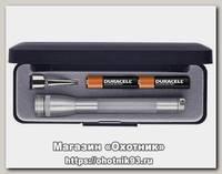 Фонарь Maglite M3A 09 2E подарочная упаковка серебро
