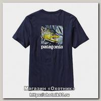 Футболка Patagonia World trout catch t-sh classic navy