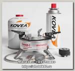 Горелка Kovea TКВ-9703-1S со шлангом газовая