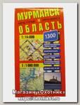 Карта Мурманская область