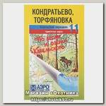 Карта по лесам и озерам Карельского №11