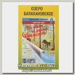 Карта по лесам и озерам Карельского №9