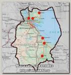 Карта Прионежский район