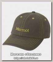 Кепка Marmot Twill dark khaki one
