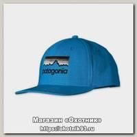 Кепка Patagonia Roger That Hat Line Logo larimar blue