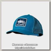 Кепка Patagonia Trucker Live Simply blue