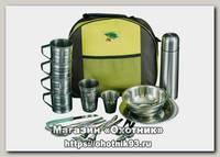 Кейс-сумка Пикник по-Русски на 4 персоны с термосом