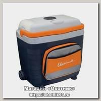 Холодильник Camping World Unicool 28л с карманом gray