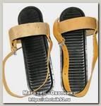 Комплект креплений для лыж ЛФ Маяк кожа амортиз носковой и пяточн рем