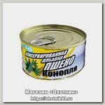 Консервированная зерновая смесь Lion Baits feeder конопля чеснок 140мл