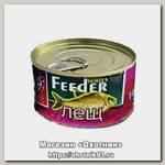 Консервированная зерновая смесь Lion Baits feeder крупный лещ 140мл