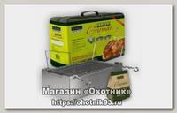 Коптильня-мангал Camping World Gurman M 4 шампура щепа 0.8 л. чехол