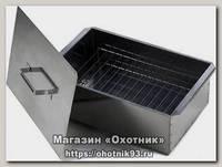 Коптильня Метиз КП21 420x270x175x0,8мм черная