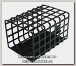 Кормушка Wirek FDA 57-100 прямоугольная 25*30 l-57мм 100гр черная