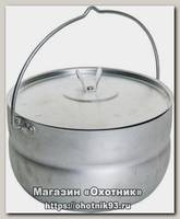 Котелок Метиз алюминевый штампованный 3 л