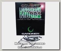 Крючки Gardner Covert longshank mugga barbed №6