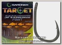 Крючки Gardner Target speci-beaked point barbed №14